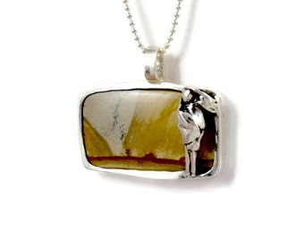 Sterling Journey Jewelry, Silver Inspirational Jewelry, Sterling Silver And Jasper Jewelry, Robin Wade Jewelry, Jayda Is On A Journey,  2300