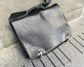 Black leather laptop bag, Briefcase laptop, Black leather messenger, Business bags, Leather business briefcase, Laptop messenger, Made in NY