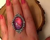 Dragon's Breath Glass Ring