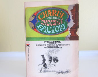 1980 Charlie And The Chocolate Factory by Roald Dahl Illustrated by Joseph Schindelman Paperback Edition
