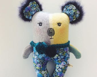 Ramona - koala - doll - Australia - animal - softie