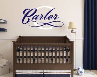 Name Decal   Name Stickers   Name Wall Decal   Custom Decals   Custom Wall  Decals