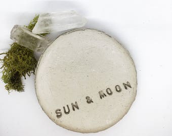 Sun & Moon Ring Dish