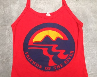 "1970's ""Friends of the River"" Tank"