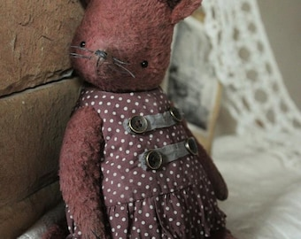 Sewing Pattern Vintage Mouse 8,5 Inch PDF Clothes included but no instruction for Clothes