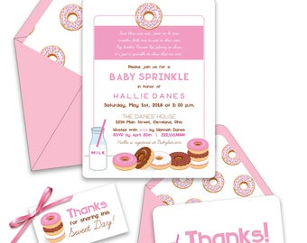 2nd Baby Sprinkle Shower Invitations