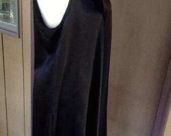 CUSTOM Slip Dress, Convertible Straps, Trapeze Party Dress