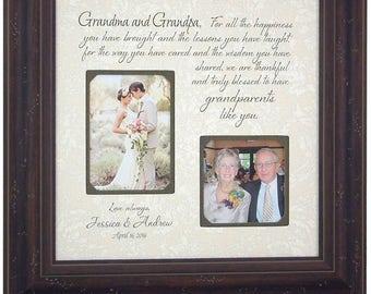 Grandparents Gift, Nana, Papa, Grandma, Grandpa, Grandmother, Grandfather, Gift for Grandparents, grandparents sign, family tree, 16 X 16