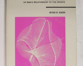 COSMIC WOMB: Man and Infinity - by Arthur Osborn - Theosophical Library Publication - 1969 Edition