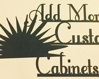 Custom, Personalized listing, COMPANY NAME,Metal Signs, Wall Art & Metal Decor for home