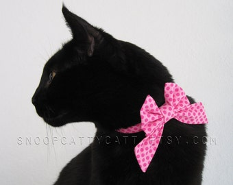 Cat Bow Tie - Pretty in Pink