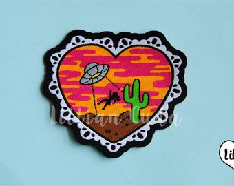 Take Me With You! UFO Abduction Patch