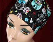 Day of the Dead Cats Surgical Cap (biker/chemo/surgical)