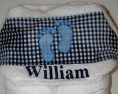 Baby Embroidered Hooded Towels-Discount Available