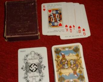 Antique Rameses Fortune Telling Cards 1910