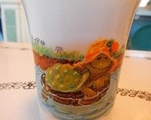 Suzy's Zoo Corky Turtle China Pottery Cup Enesco Made in Japan