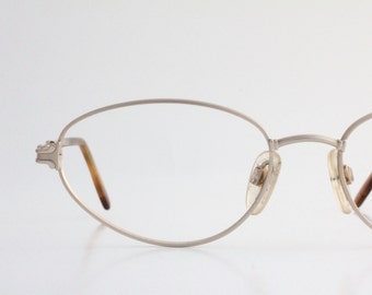 Vintage 80's Italian Gold Wire Eyeglasses Frames