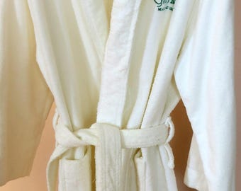 robe white terry cloth robe from the grand hotel on mackinac island mi - Terry Cloth Robe