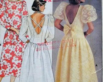 Butterick Pattern 3174  Size 6-8-10 Prom Bridesmaid Dress