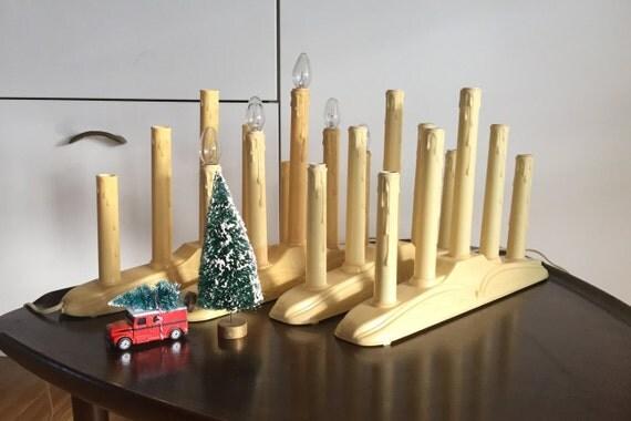 Candelabra -  Christmas/Holiday - Plastic  Plug In