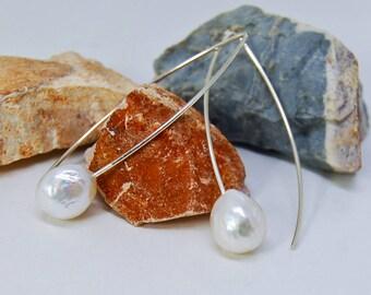 Edison Pearl Earrings | Kasumi Style Earrings | Bridal Earrings