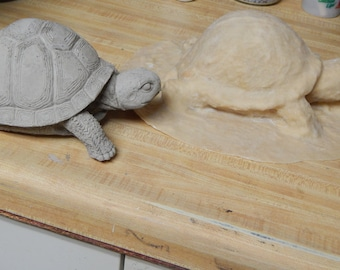 Turtle latex mold with back up, glove mold, mother mold, realistic turtle