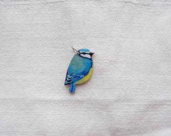Blue tit pendant