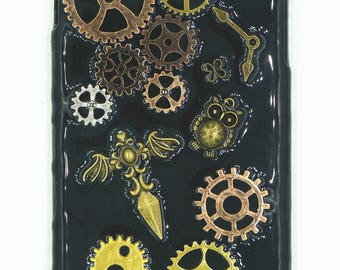 Steampunk Iphone 7 case Free shipping