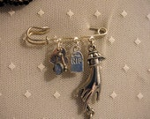 Rites Lapel Pin or Assemblage Brooch