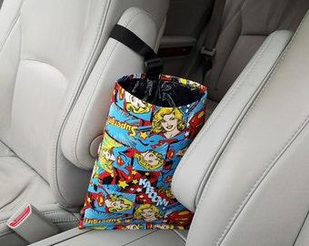 Car Trash Bag -  Super Girl