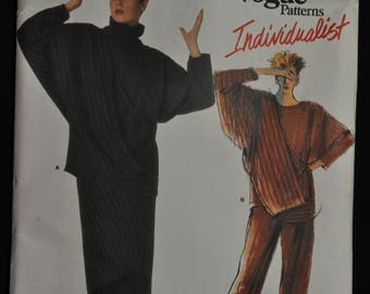 1980's Issey Miyake Pattern - Misses' Top Skirt and Pants - Size 16 - UNCUT - Vogue 1618