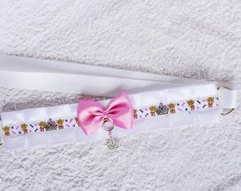 Royal puppy - collar for pet play, age play, bdsm, lolita, ddlg