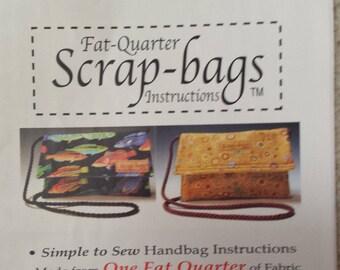 Fat Quarter Handbag by Scrap Bags