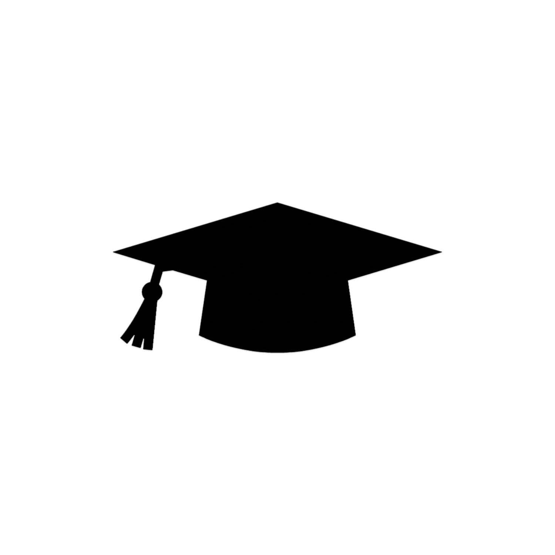 graduation mortar board template - graduation cap die cut graduation hat high school