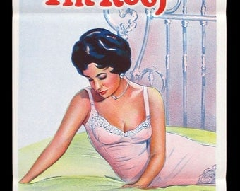 CAT On A Hot TIN ROOF original movie poster Elizabeth Taylor
