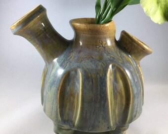 Pottery Vase, Flower Vase, Ceramic Vase, Funky Vase, Handmade Vase, Stoneware Vase, Housewarming Gift