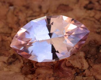 3.11 Carat Pink Congolese Tourmaline Gemstone Precision Cut Gem
