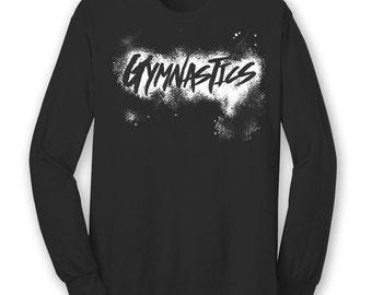 Gymnastics Chalk Shirt Gymnast Long Sleeve T Shirt Gymnastics Shirt