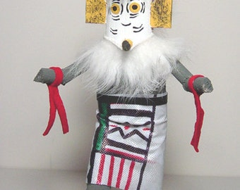 Kachina Doll, Owl Kachina Doll, Golden Owl Kachina Doll, Owl Kachina Doll on Sale, Owl on sale, Kachina Doll on Sale