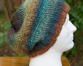 Men's Super Slouchy Hat in Wildbrush - XL - Alpaca Blend