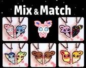 Mix & Match Eeveelution BFF Necklaces
