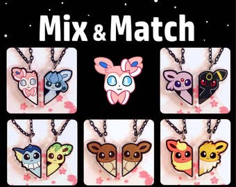 Mix & Match Eeveelution BFF Necklaces