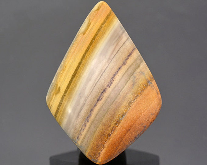 SALE EVENT! Nice Banded Rhyolite Cabochon from New Mexico 36.34 cts.