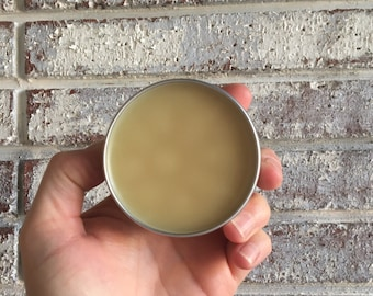 SHEA BUTTER BALM  {Perfect For Dry Hands, Heels, Elbows, Knees, Essential Oils, Natural Butter, Local Beeswax}