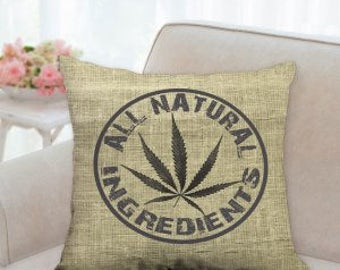 All Natural Ingredients Weed Pillow