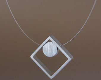 Diamond Aluminum Necklace