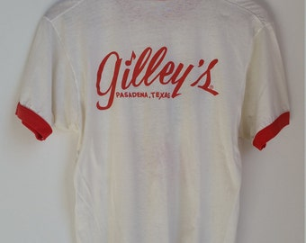Vintage Gilley's Ringer T-Shirt