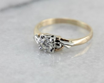 1950's Diamond Engagement Ring PM2MHL-P