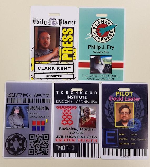 Personalized ID Badges, Cosplay IDs, Customized ID Badge, Plastic pvc Card, Legit IDs, Company IDs