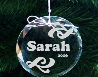 SHIPS FAST, Handmade Name Christmas Ornament, Personalized Christmas Ornaments Kids, Custom Holiday Xmas Ornament Stocking Stuffer , COR007
